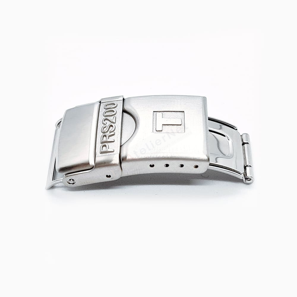 Fermoir Acier Tissot pour cuir / PRS200 / T640015881