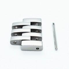 Maillon de bracelet Acier Tissot Le Locle / T613015079