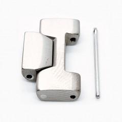 Maillon bracelet Titane Tissot / TTouch II - TTouch Expert / T613015316